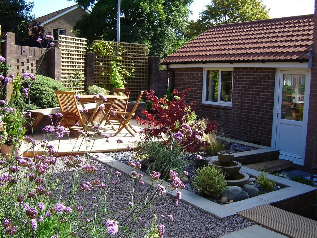 Small City Garden - Greenspace Garden Design