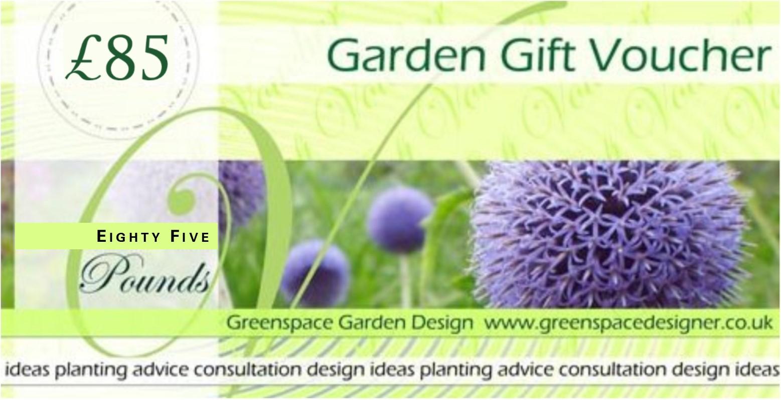 Garden Gift Voucher Greenspace Garden Design