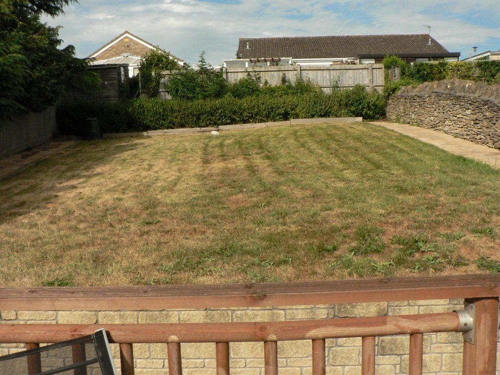 Greenspace Garden Design - Split Level Contemporary Garden - before