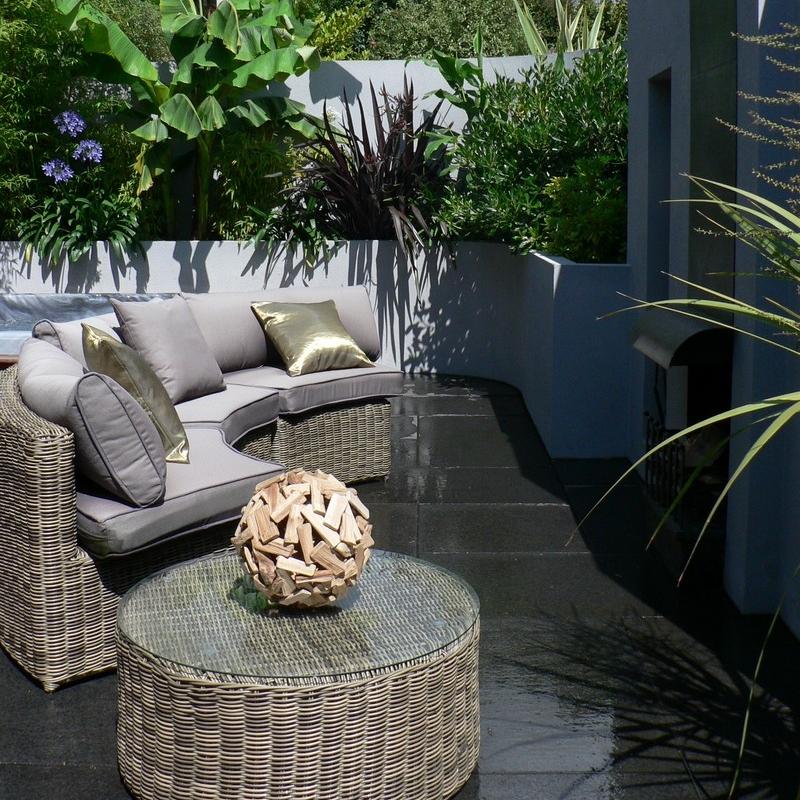 Split Level Contemporary Garden