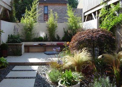 Contemprary Town Garden - Greenspace Garden Design - After