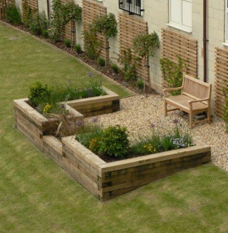 City Apartment Gardens - Communal Garden - Greenspace Garden Design